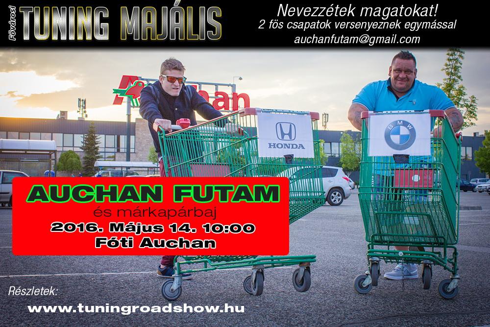 I. Auchan futam, avagy márkapárbaj bevásárlókocsikkal